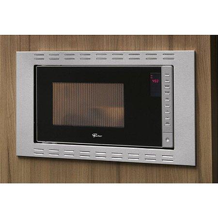 Forno Micro-ondas Fit Line Embutir 25L Inox - Fischer
