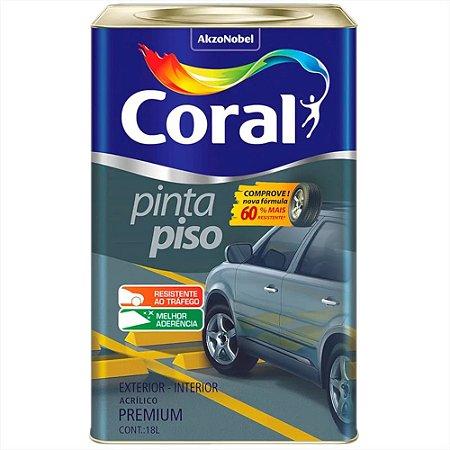 Tinta Acrílica Premium Pinta Piso 18 Litros - Coral