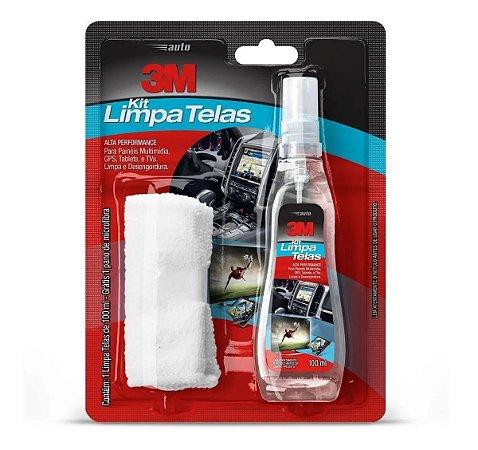 Kit Limpa Telas 100ml Com Flanela - 3M