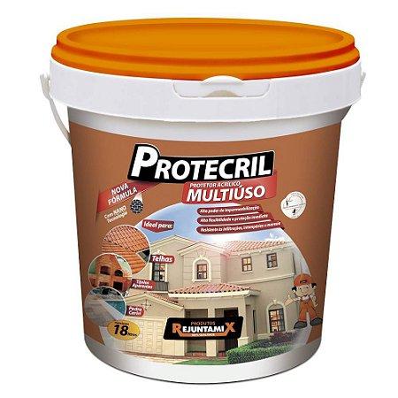 Impermeabilizante Acrílico Multiuso Protecril 18L  - Rejuntamix