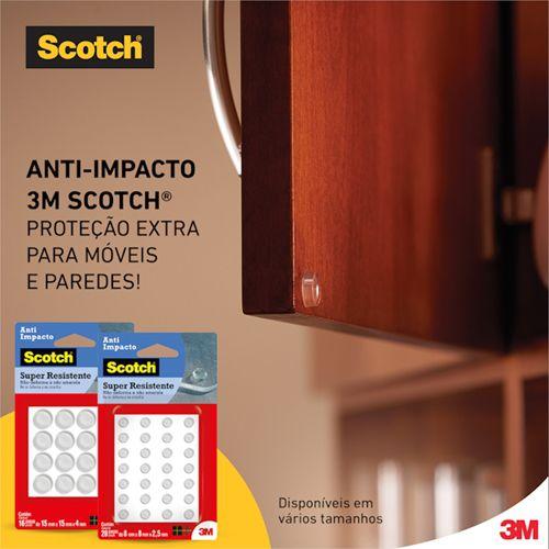 Protetor Anti-Impacto  Redondo Diversos Tamanhos - 3M™ Scotch™