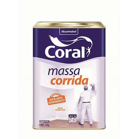 Massa Corrida (PVA) 25Kg - Coral