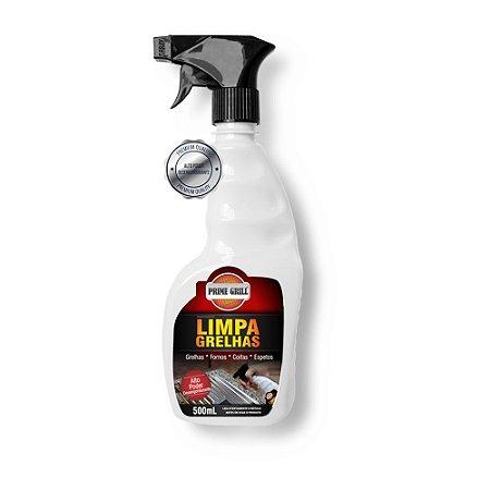 Limpa Grelhas 500ml Prime Grill - Grilazer