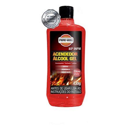 Acendedor Álcool Gel 430g Prime Grill - Grilazer