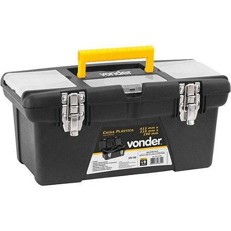 Caixa Plástica Para Ferramentas 1 Bandeja CPV160 - Vonder
