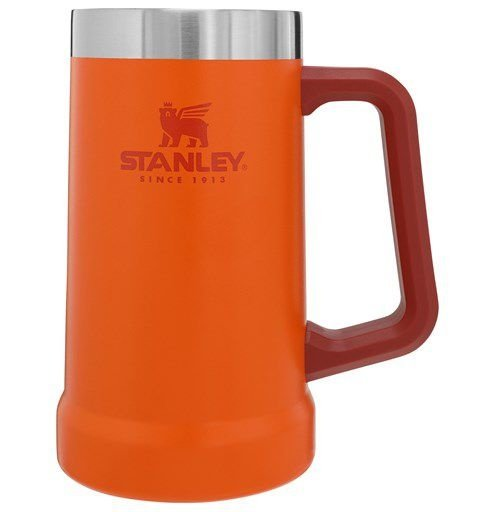 Caneca Térmica Stanley de Cerveja Laranja Orange 709ml