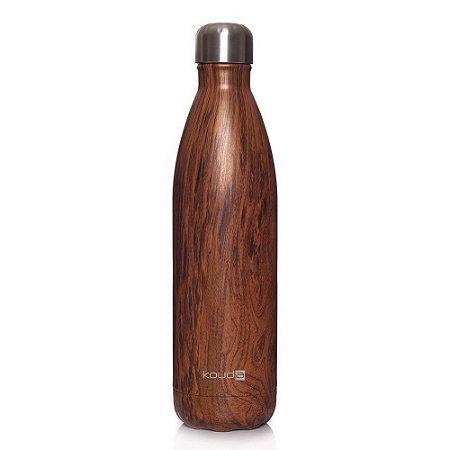 Garrafa Térmica Kouda Grey Wood 750ml