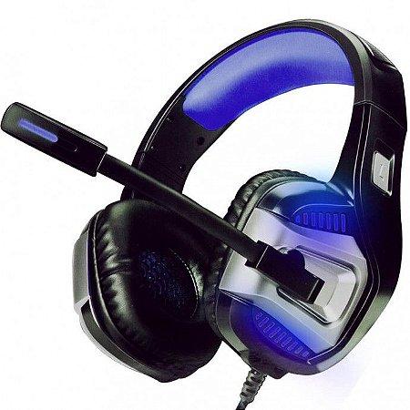 Headset Gamer 7.1 Surround para Ps4 Pc e Smartphone Vermelho Exbom - Gh-x1800
