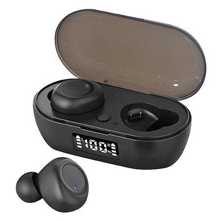 Fone de Ouvido Dual Bluetooth 5.0 Par Sem Fio - Xz-b098