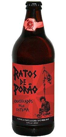Cerveja Ratos De Porão Crucificados Red Ale 600 ml