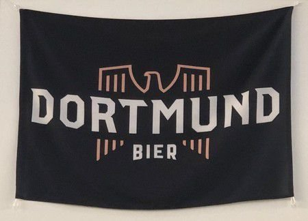 Bandeira Dortmund 1.00 x 0,70 m
