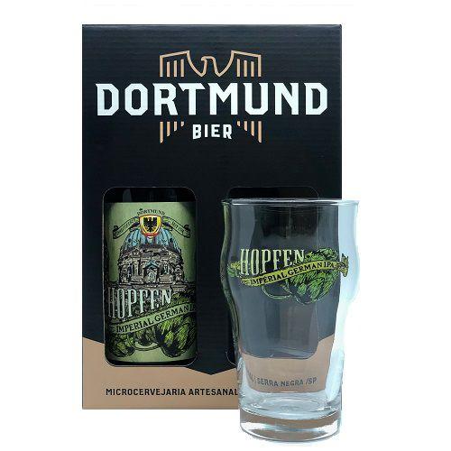 Kit Cerveja Dortmund 600ml Hopfen Com Copo