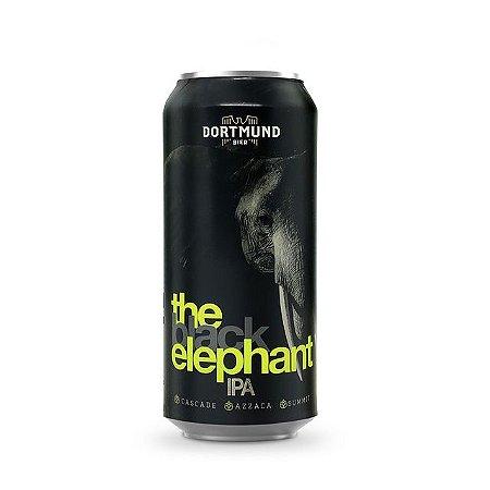 Cerveja Dortmund The Black Elephant IPA Lata 473ml
