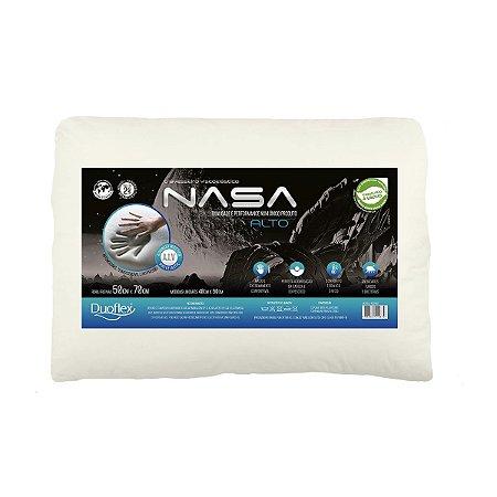 Travesseiro nasa alto 50x70x13 Duoflex