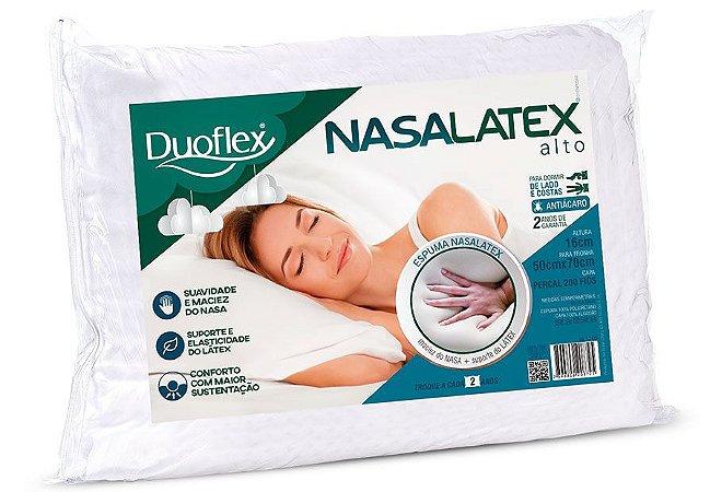 Travesseiro Nasa Latex Alto 50x70x16 Duoflex
