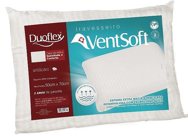 Travesseiro nasa Ventsoft 50x70x18 Duoflex