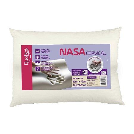 Travesseiro Nasa Cervical 50x70x13 - Duoflex