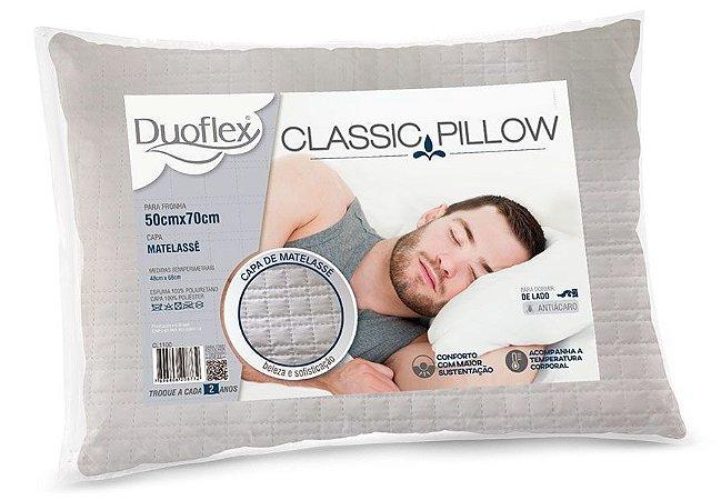 Travesseiro Duoflex espuma Classic Pillow 50x70x18