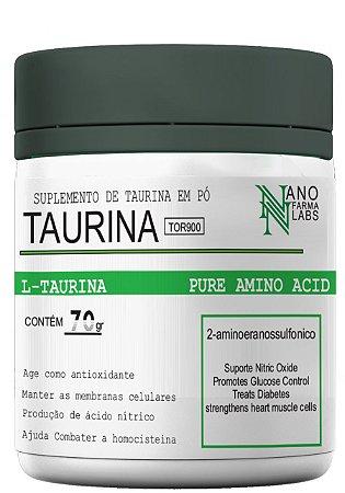 L- Taurina em pó 100% Pura - 70g