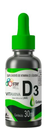 Vitamina D3 Líquida Concentrada 30ml | 1 Gota = 200ui