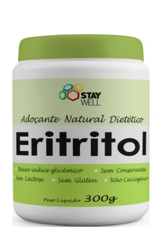 Eritritol 100% Puro Adoçante Dietético - 300g