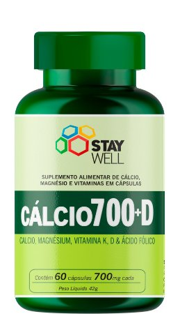 Cálcio 700 D+ 700mg - 60 Cápsulas