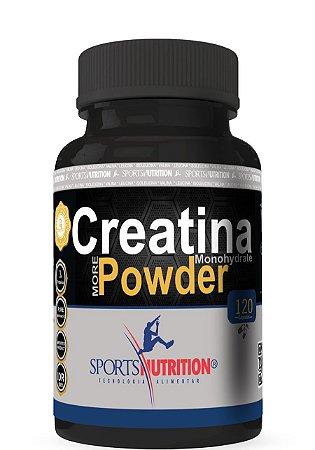 Creatina Pure Micronized Powder - 120 Cápsulas