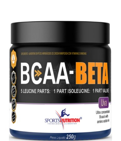 Bcaa Beta 5:1:1 Ultra Concentrado - 250g