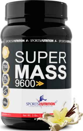 Hipercalórico Super Mass 9600 - 1.4kg