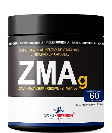 Zma -Zinco + Magnésio + Vitamina B6 - 60 Cápsulas