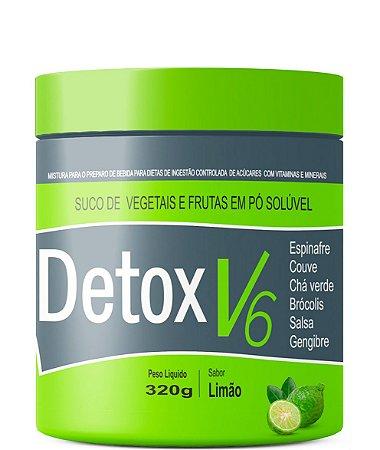 Suco Detox V6 Instantâneo Altamente Nutritivo - 320g