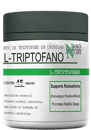 L-Triptofano Melatonine - 45 Cápsulas