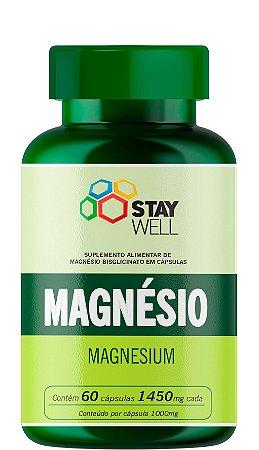Magnésio 1000mg - 60 Cápsulas