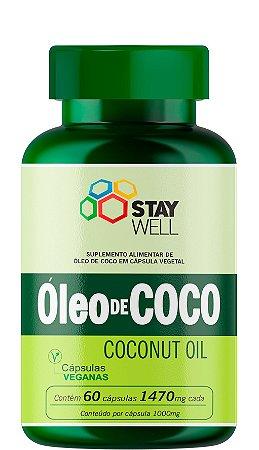 Óleo De Coco Extravirgem (Cápsulas Veganas) 1000mg - 60 Cápsulas