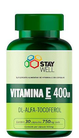 Vitamina E 400UI - 30 Cápsulas