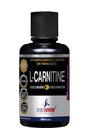 L-Carnitina Ácido Clorogênico - 480ml