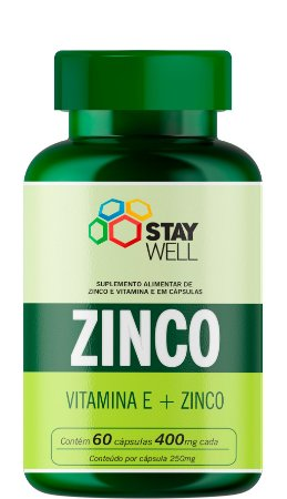Zinco + Vitamina E - 60 Cápsulas