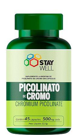 Picolinato De Cromo - Chromium Picolinate - 45 cápsulas
