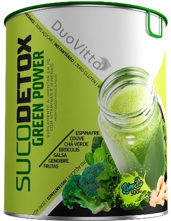 Green Power+ Suco Detox Altamente Nutritivo E Natural - 300g