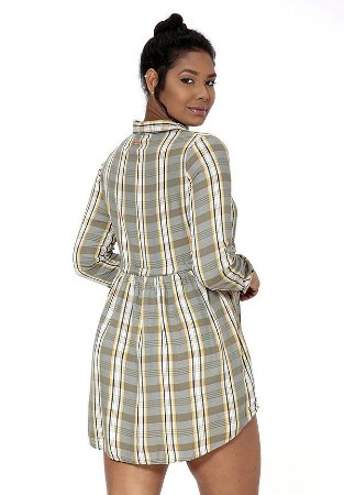 1960744-Vestido Curto Viscose