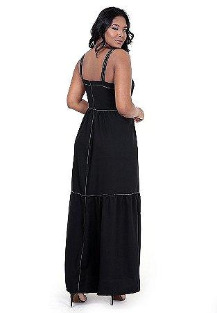 7200295-Vestido Longo Viscose