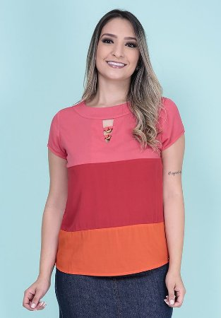 5200467-Blusa Mg Curta Viscose