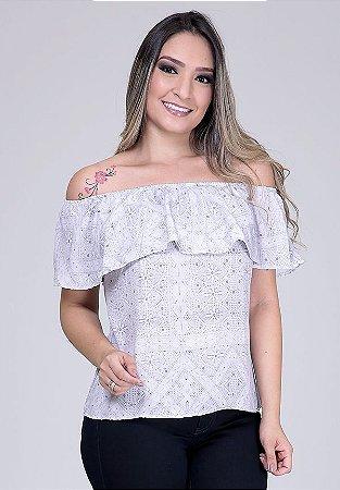 1757919-Blusa Ciganinha Crepe