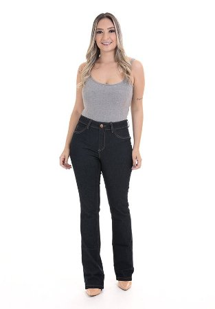 1758463-Calça Flare Jeans