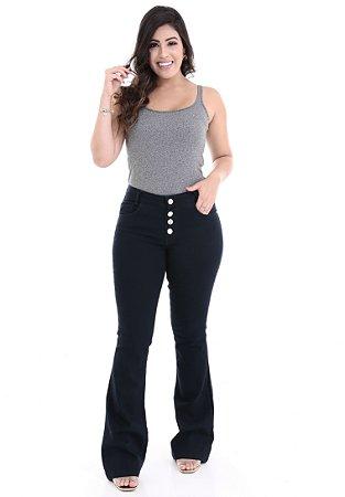 1758550-Calça Flare Jeans