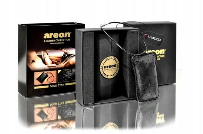 LEATHER COLLECTION GOLD STAR AREON