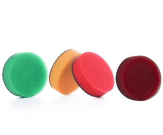 Kit Boinas de Espuma Vermelha, Verde, Amarela, Roxa  1,6'' SGCB