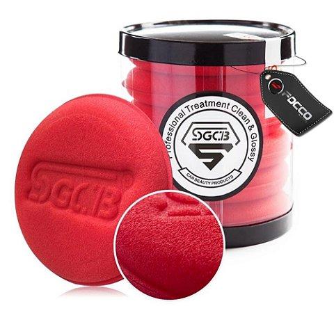 Espuma Aplicadora Macia Vermelha c/6 SGCB