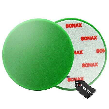 """BOINA DE ESPUMA VERDE 6"""" SONAX"""