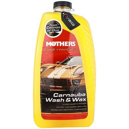 CAL. GOLD CARNAÚBA WASH E WAX 1,892ML MOTHERS